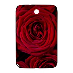 Roses Flowers Red Forest Bloom Samsung Galaxy Note 8 0 N5100 Hardshell Case  by Amaryn4rt