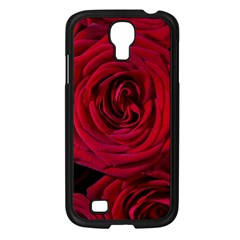 Roses Flowers Red Forest Bloom Samsung Galaxy S4 I9500/ I9505 Case (Black)