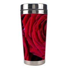 Roses Flowers Red Forest Bloom Stainless Steel Travel Tumblers