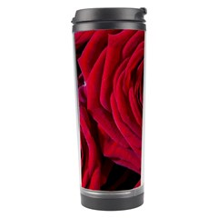 Roses Flowers Red Forest Bloom Travel Tumbler