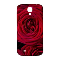 Roses Flowers Red Forest Bloom Samsung Galaxy S4 I9500/I9505  Hardshell Back Case