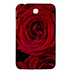 Roses Flowers Red Forest Bloom Samsung Galaxy Tab 3 (7 ) P3200 Hardshell Case