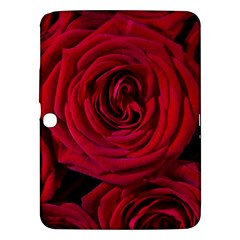 Roses Flowers Red Forest Bloom Samsung Galaxy Tab 3 (10.1 ) P5200 Hardshell Case