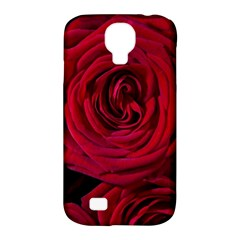 Roses Flowers Red Forest Bloom Samsung Galaxy S4 Classic Hardshell Case (PC+Silicone)