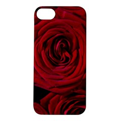 Roses Flowers Red Forest Bloom Apple iPhone 5S/ SE Hardshell Case