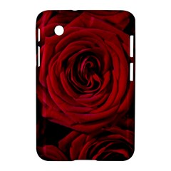 Roses Flowers Red Forest Bloom Samsung Galaxy Tab 2 (7 ) P3100 Hardshell Case