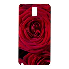 Roses Flowers Red Forest Bloom Samsung Galaxy Note 3 N9005 Hardshell Back Case