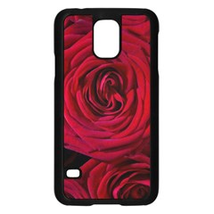 Roses Flowers Red Forest Bloom Samsung Galaxy S5 Case (Black)