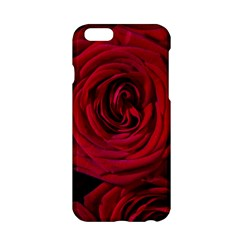 Roses Flowers Red Forest Bloom Apple iPhone 6/6S Hardshell Case