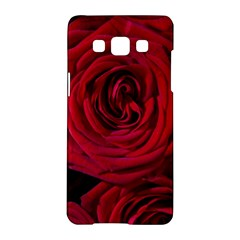 Roses Flowers Red Forest Bloom Samsung Galaxy A5 Hardshell Case