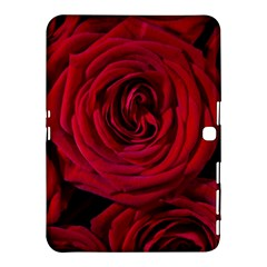 Roses Flowers Red Forest Bloom Samsung Galaxy Tab 4 (10.1 ) Hardshell Case