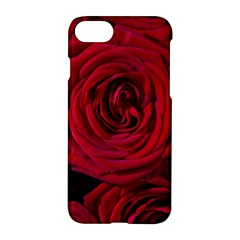 Roses Flowers Red Forest Bloom Apple iPhone 7 Hardshell Case