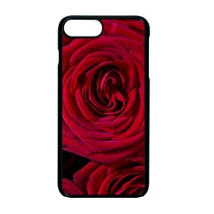 Roses Flowers Red Forest Bloom Apple iPhone 7 Plus Seamless Case (Black)