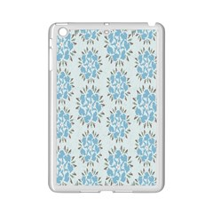 Flower Floral Rose Bird Animals Blue Grey Study Ipad Mini 2 Enamel Coated Cases