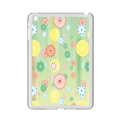 Flower Arrangements Season Pink Yellow Red Rose Sunflower Ipad Mini 2 Enamel Coated Cases