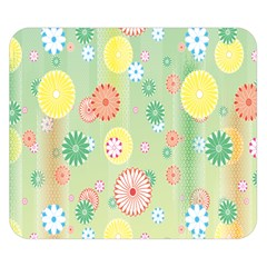 Flower Arrangements Season Pink Yellow Red Rose Sunflower Double Sided Flano Blanket (small)