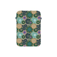 Flower Sunflower Floral Circle Star Color Purple Blue Apple Ipad Mini Protective Soft Cases