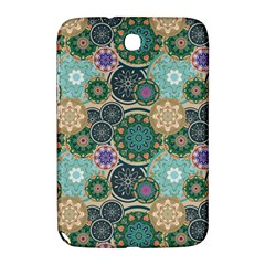 Flower Sunflower Floral Circle Star Color Purple Blue Samsung Galaxy Note 8 0 N5100 Hardshell Case