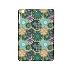 Flower Sunflower Floral Circle Star Color Purple Blue Ipad Mini 2 Hardshell Cases by Alisyart