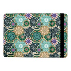 Flower Sunflower Floral Circle Star Color Purple Blue Samsung Galaxy Tab Pro 10 1  Flip Case