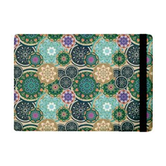 Flower Sunflower Floral Circle Star Color Purple Blue Ipad Mini 2 Flip Cases by Alisyart