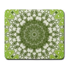 Mandala Center Strength Motivation Large Mousepads by Amaryn4rt