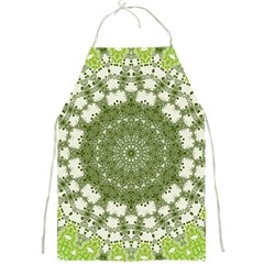 Mandala Center Strength Motivation Full Print Aprons by Amaryn4rt