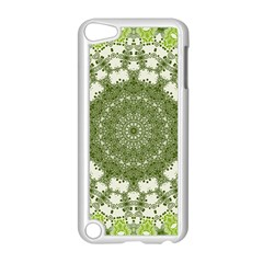 Mandala Center Strength Motivation Apple Ipod Touch 5 Case (white) by Amaryn4rt