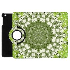 Mandala Center Strength Motivation Apple Ipad Mini Flip 360 Case