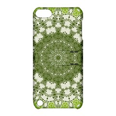 Mandala Center Strength Motivation Apple Ipod Touch 5 Hardshell Case With Stand by Amaryn4rt