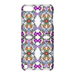 Floral Ornament Baby Girl Design Apple Ipod Touch 5 Hardshell Case With Stand by Amaryn4rt