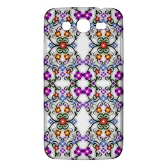 Floral Ornament Baby Girl Design Samsung Galaxy Mega 5 8 I9152 Hardshell Case  by Amaryn4rt
