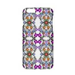 Floral Ornament Baby Girl Design Apple Iphone 6/6s Hardshell Case by Amaryn4rt