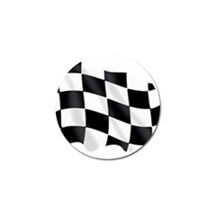 Flag Chess Corse Race Auto Road Golf Ball Marker (4 Pack) by Amaryn4rt