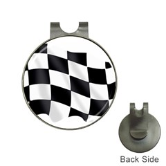 Flag Chess Corse Race Auto Road Hat Clips With Golf Markers by Amaryn4rt