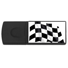 Flag Chess Corse Race Auto Road Usb Flash Drive Rectangular (4 Gb) by Amaryn4rt