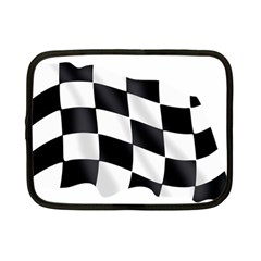 Flag Chess Corse Race Auto Road Netbook Case (small)  by Amaryn4rt