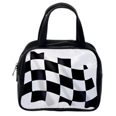 Flag Chess Corse Race Auto Road Classic Handbags (one Side) by Amaryn4rt
