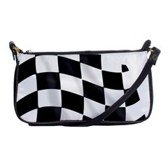 Flag Chess Corse Race Auto Road Shoulder Clutch Bags by Amaryn4rt