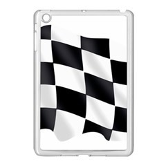 Flag Chess Corse Race Auto Road Apple Ipad Mini Case (white) by Amaryn4rt