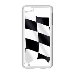 Flag Chess Corse Race Auto Road Apple Ipod Touch 5 Case (white) by Amaryn4rt