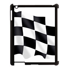 Flag Chess Corse Race Auto Road Apple Ipad 3/4 Case (black) by Amaryn4rt