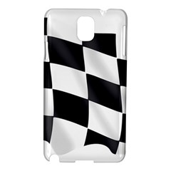 Flag Chess Corse Race Auto Road Samsung Galaxy Note 3 N9005 Hardshell Case by Amaryn4rt