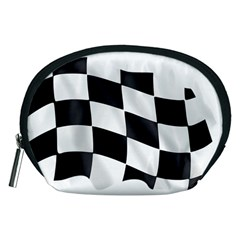 Flag Chess Corse Race Auto Road Accessory Pouches (medium)  by Amaryn4rt