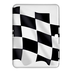 Flag Chess Corse Race Auto Road Samsung Galaxy Tab 4 (10 1 ) Hardshell Case  by Amaryn4rt