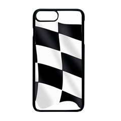 Flag Chess Corse Race Auto Road Apple Iphone 7 Plus Seamless Case (black) by Amaryn4rt