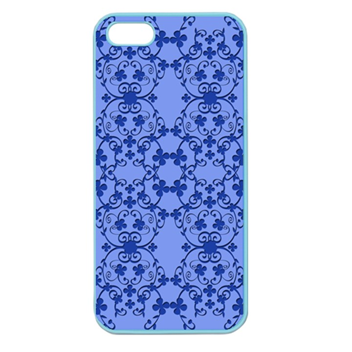 Floral Ornament Baby Boy Design Apple Seamless iPhone 5 Case (Color)
