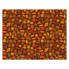 Pattern Background Ethnic Tribal Rectangular Jigsaw Puzzl