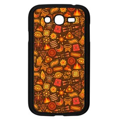 Pattern Background Ethnic Tribal Samsung Galaxy Grand Duos I9082 Case (black) by Amaryn4rt