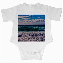 Wave Foam Spray Sea Water Nature Infant Creepers